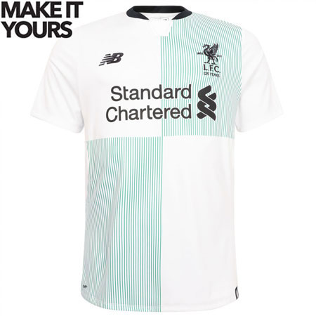 New Balance Liverpool Away 2017-18 Youth Jersey