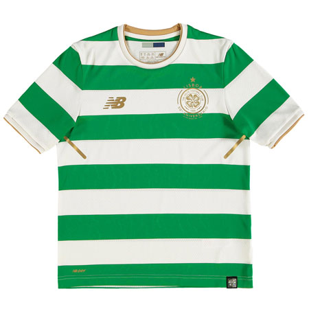 New Balance Celtic 2017-18 Home Youth Replica Jersey