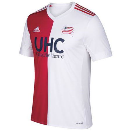 adidas Youth New England Revolution 2017-18 Away Replica