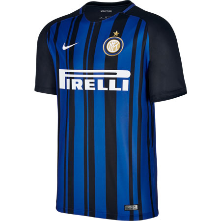 Nike Inter Milan 2017-18 Home Stadium Jersey