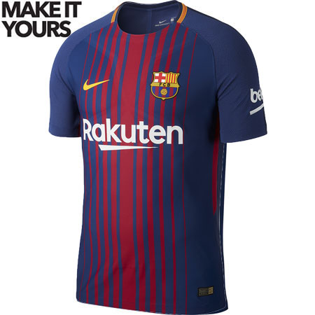 Nike FC Barcelona 2017-18 Official Away Jersey