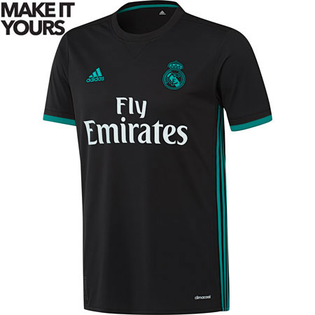 adidas Real Madrid 2017-18 Away Replica Jersey