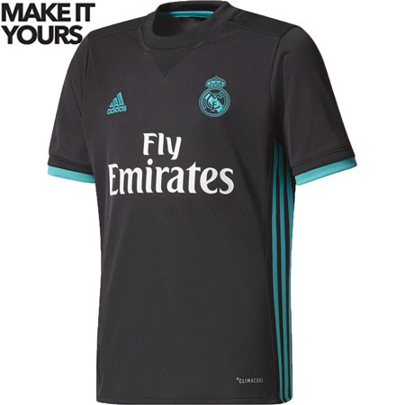 adidas Real Madrid Youth 2017-18 Away Replica Jersey