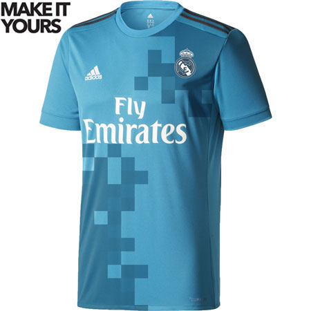 adidas Real Madrid 3rd 2017-18 Replica Jersey