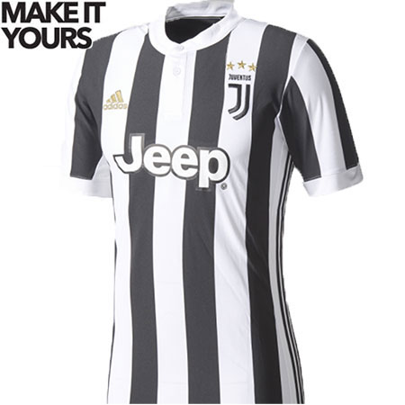 adidas Juventus Youth Home 2017-18 Replica Jersey