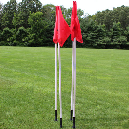 WGS Pro Red Corner Flag Set