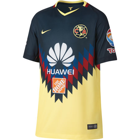 Nike Club America Home 2017-18 Youth Stadium Jersey
