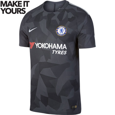 Nike Chelsea 2017-18 Third Authentic Match Jersey