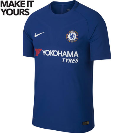 Nike Chelsea Home 2017-18 Authentic Match Jersey