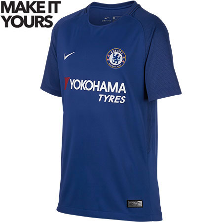 Nike Chelsea Home 2017-18 Youth Stadium Jersey