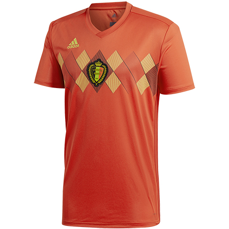 adidas Belgium 2018 World Cup Youth Home Replica Jersey
