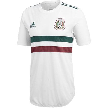 adidas Mexico 2018 World Cup Away Authentic Jersey
