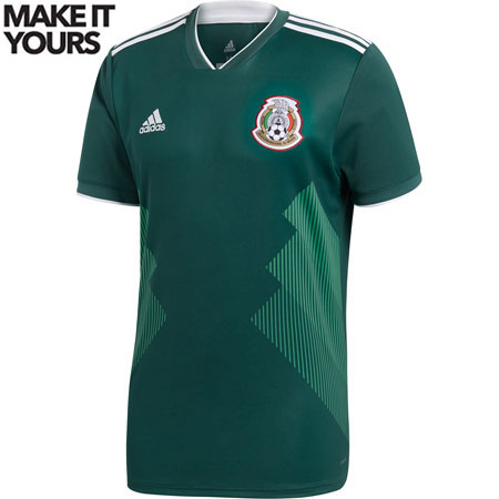 adidas Mexico 2018 World Cup Home Replica Jersey