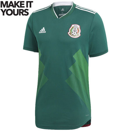 adidas Mexico 2018 World Cup Home Authentic Jersey