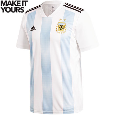 adidas Argentina 2018 World Cup Home Replica Jersey