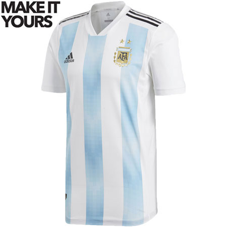 adidas Argentina 2018 World Cup Home Authentic Jersey