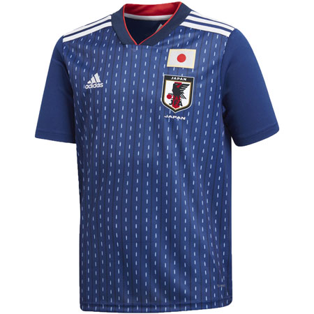 adidas Japan 2018 World Cup Home Youth Replica Jersey
