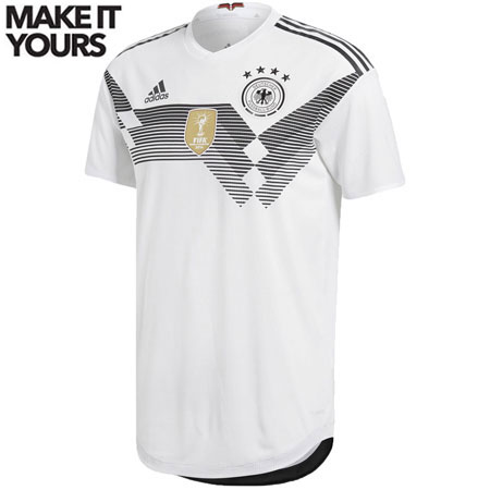 adidas Germany 2018 World Cup Home Authentic Jersey