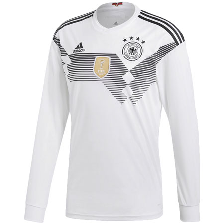 adidas Germany 2018 World Cup Home LS Replica Jersey