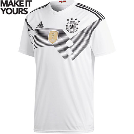 adidas Germany 2018 World Cup Home Replica Jersey