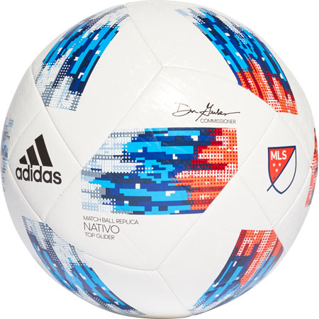 adidas 2018 MLS Top Glider Soccer Ball