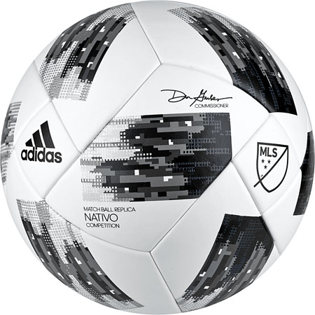 adidas MLS Competition NFHS 2018 Soccer Ball