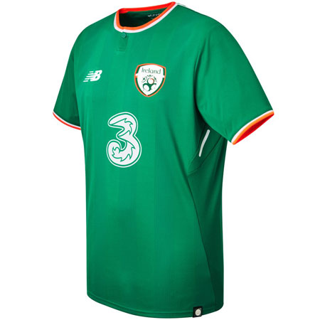 New Balance Ireland 2017-18 Home Replica Jersey