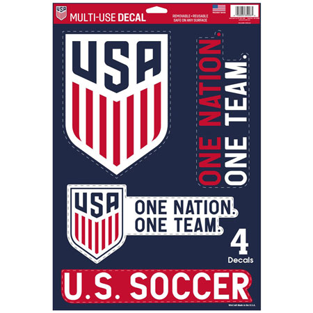 "USA Soccer National Team Multi-Use 11"" x 17"" Decal"