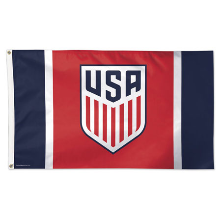 USA Soccer National Team Flag - Deluxe 3