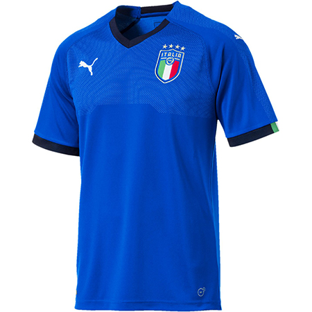 Puma Italy Home 2018 World Cup Replica Jersey