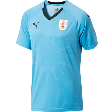 Puma Uruguay 2018 World Cup Home Replica Jersey