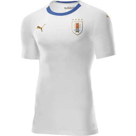Puma Uruguay 2018 World Cup Away Replica Jersey
