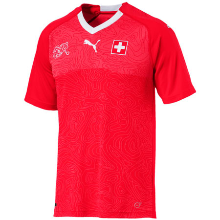 Puma Suisse 2018 World Cup Home Replica Jersey