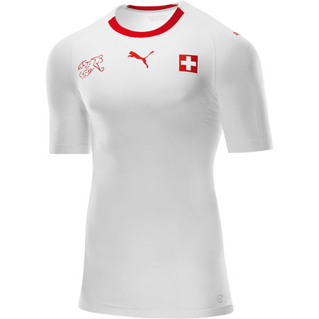 Puma Suisse 2018 World Cup Away Replica Jersey