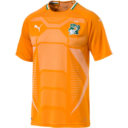 Puma Ivory Coast 2018 Home Replica Jersey