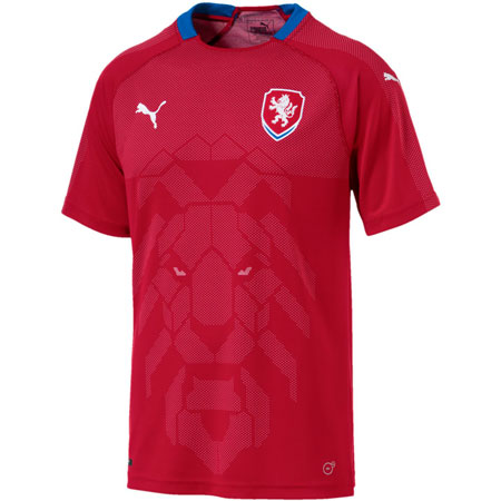 Puma Czech Republic 2018 World Cup Home Replica Jersey