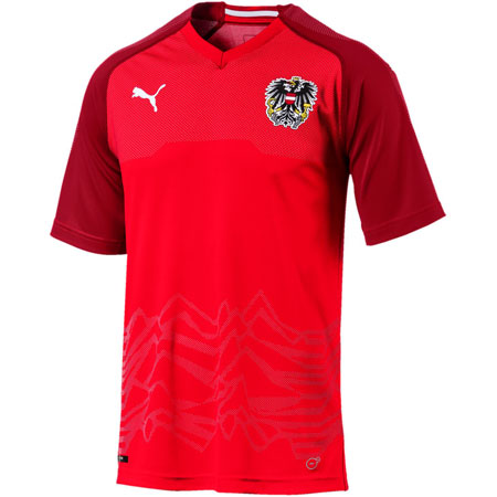 Puma Austria 2018 World Cup Home Replica Jersey