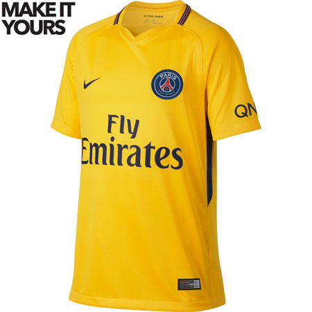 Nike PSG Away Youth 2017-18 Stadium Jersey