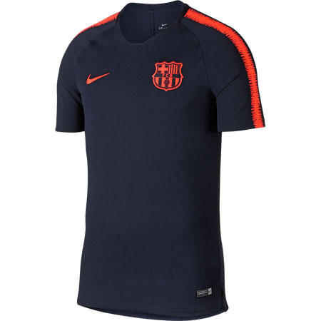 Nike Breathe Squad FC Barcelona Football Top