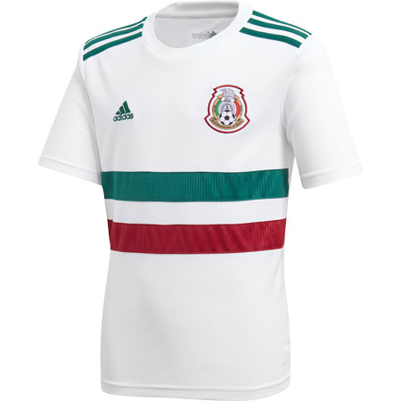 adidas Mexico 2018 World Cup Away Youth Replica Jersey