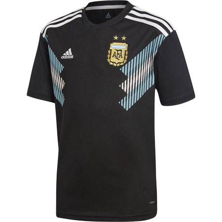 adidas Argentina 2018 World Cup Youth Away Replica Jersey