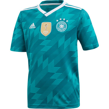adidas Germany 2018 World Cup Youth Away Replica Jersey
