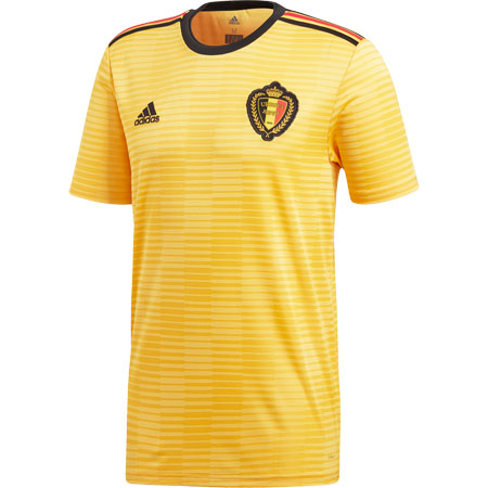 adidas Belgium 2018 World Cup Away Replica Jersey