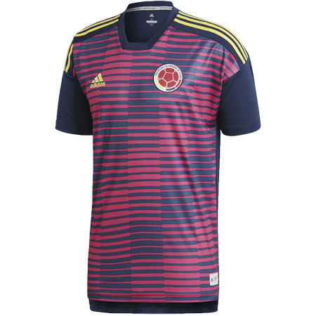 adidas Colombia Home Parley Pre-Match Jersey