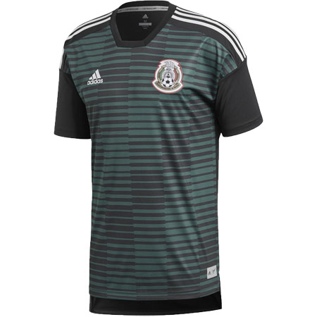 adidas Mexico Home Parley Pre-Match Jersey