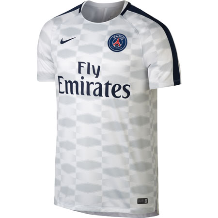 Nike PSG 2017-18 Dry Squad GX Performance Training Jersey