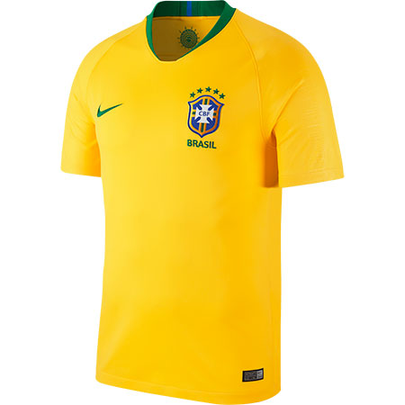 Nike Brazil 2018 World Cup Home Stadium Jersey