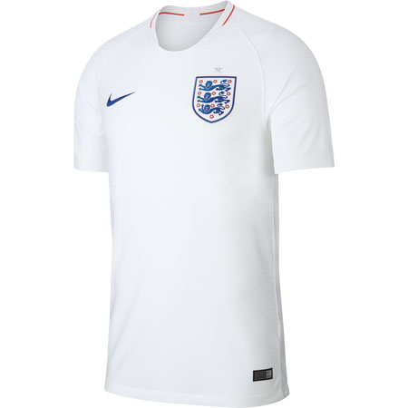 Nike England 2018 World Cup Home Stadium Jersey