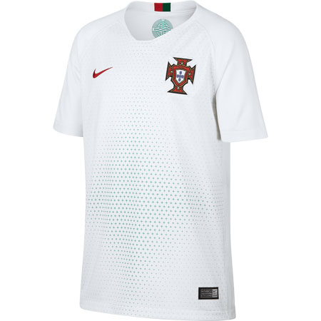 Nike Portugal 2018 World Cup Away Youth Stadium Jersey