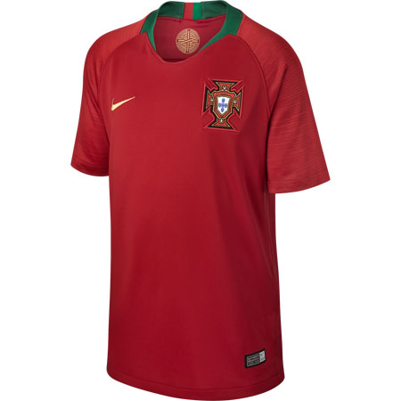 Nike Portugal 2018 World Cup Home Youth Stadium Jersey
